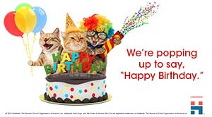 ecards birthday teen cats