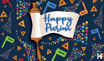 Happy Purim eCard 1