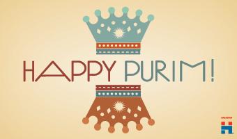 Happy Purim eCard 2
